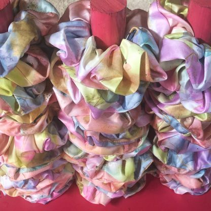 Scrunchies on a stand